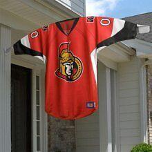 Ottawa Senators 2-sided JERSEY House Outdoor Banner Flag NHL Hockey