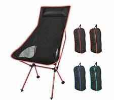 Portable Moon Chair Fishing Camping Chairs Folding Hiking Seat Garden Furniture