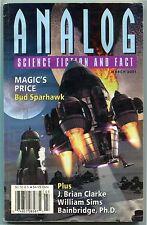 ANALOG Science Fiction Magazine 2001 4 Issue Lot