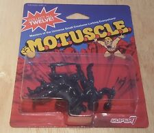 MOTUSCLE SUPER 7 SDCC 2015 BLACK VARIANT 3-PACK (HE-MAN TEELA MAN-AT-ARMS) MOTU
