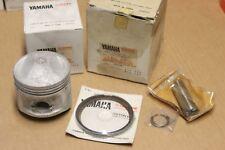 Kit Piston 447-11635-01 + Segments + Axe + clips YAMAHA 447-11630-10 pour XS 650