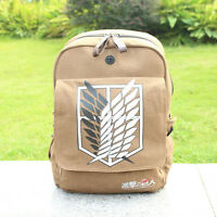 Attack on Titan Schoolbag Backpack Shingeki no Kyojin Cosplay Scouting Legion