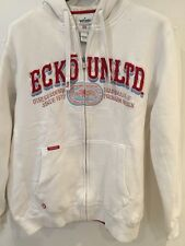 Ecko Men's White Long Sleeve  Hoodie UK Large