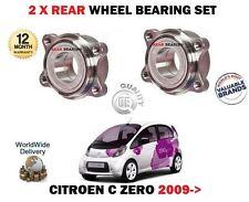 Para Citroen C Zero Electric 16KWH 2009 - > 2 x Rodamientos De Rueda Trasera Kit Set