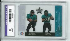 2004 LEAF ROOKIES AND STARS TICKET MASTERS #TM13 BYRON LEFTWICH/FRED TAYLOR