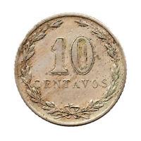 KM# 35 - 10 Centavos - Argentina 1922 (VF)