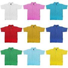 T-shirts, débardeurs et chemises 4 ans sans motif en 100% coton pour garçon de 2 à 16 ans