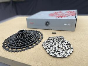 Sram NX 12 Speed Eagle Cassette 11-50 Black With NX Chain