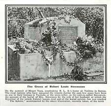 WW1 Grave Of Robert Louis Stevenson Summit Of Mount Vaea