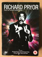 Richard Pryor Box DVD Set Here E Ora / Live On Il Tramonto Strappo Stand
