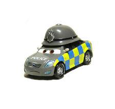 Disney Pixar Cars Diecast Toy Car Mark Wheelsen Ford Mondeo British Police Gray