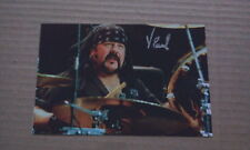 """PANTERA Vinnie Paul Fully personally signed 6 x 4"""" Pic"""