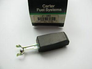 Genuine Carter 21-253 Nitrophyl Carburetor Float For Carter Thermoquad Carbs