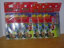 6 SANDYLION POKEMON MY STICKER ALBUMS