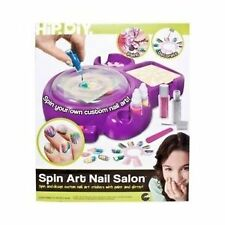 Purple Nail Art Glitter