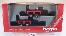 Herpa 1/87 2 Stück Kesselbrücke klein ohne Beschriftung OVP #5076