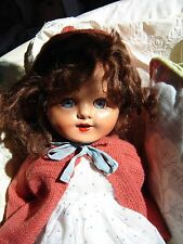 """Composition 21"""" vintage doll in vintage outfit. Believe is English made."""