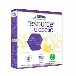 Resource Diabetic Nestle Food for Dietary Management of Individuals With Diabete