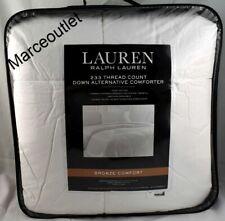 Ralph Lauren Bronze Comfort 233 Tc King Down Alternative Comforter White