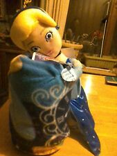 """Disney Cinderella """"Magic Moment"""" Hugger Plush Pillow & Throw Set"""