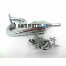 New King Motor Aluminum Tuned Exhaust Pipe Fits 1/5 Scale HPI Baja 5B 5T Rovan