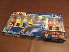 Vintage Pez Candy Dispensers - Star Trek Collector Series Ltd Edition Set Mib