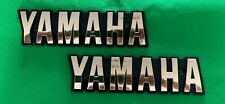 YAMAHA Fuel Gas Tank Emblem Badges Petrol Gold XS650 XS 650 Special