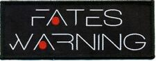 "Fates Warning "" New Logo ""Patch/Aufnäher 602426 #"