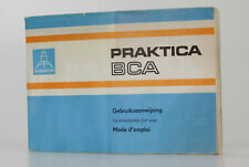 PRAKTICA BCA  Mode D'emploi d'origine  (Réf#V-314)