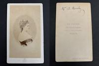 Le Jeune, Paris, Anna Murat, Duchesse de Mouchy CDV vintage albumen print.Duch