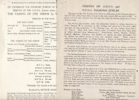 FRIENDS OF O.U.D.S. and O.U.D.S. DIAMOND JUBILEE 1945 History Two Pages Rf 48823