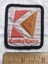 Kash n' Karry Grocery Store Supermarket Logo Embroidered Uniform Patch