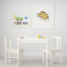 Ikea tavolo per Bambini KRITTER in legno massello (lxpxa) 50x59x50cm Bianco