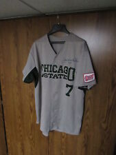 GAME ISSUED USED NCAA CHICAGO STATE COUGARS BASEBALL JERSEY SIZE XL # 7