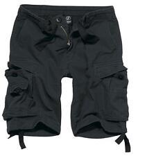 Brandit Pantaloni Bermuda Uomo Cargo Short Vintage Classics Black XXL