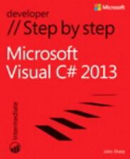 Microsoft Visual C# 2013 Step by Step (Step by Step Developer), Sharp, John, Goo