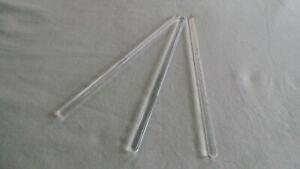 3 x 200mm Glass Stirring Rods for Lab Use Stir Stiring Stirrer Laboratory