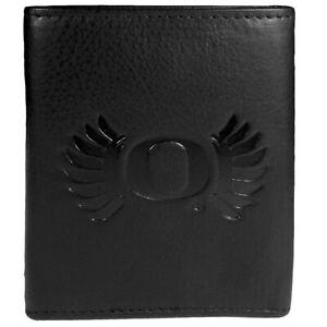 Oregon Ducks Embossed Leather Tri-fold Wallet
