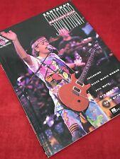 Santana's Greatest Hits - Guitar Tab Sheet Music Song Book
