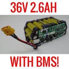 5 TP 36V 2.6AH BATTERY LITHIUM ION 18650 EBIKE POWERWALL BATTERIES 100 CELLS BMS