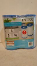 New listing Intex 29002E White Pool Cartridge Filter - 2 Pieces