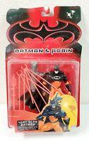 "Vintage 1997 Kenner DC Batman & Robin Heat Scan Batman 5"" Action Figure"