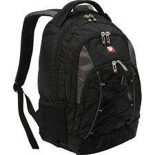 SwissGear Travel Gear Bungee Backpack - Black/Grey Business & Laptop Backpack