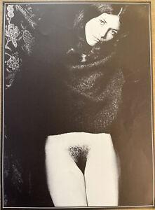 Sam Haskins 1972 Original Ltd. Poster 35x48cm,13x19 Inches Offset Lithograph 14a