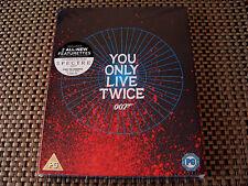 Blu 4 U: You Only Live Twice Limited Edition Artwork Cover & UV : James Bond 007