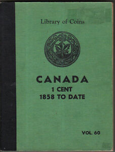 1859-2001 Canadian Large and Small Cent Set in Library of Coins Album