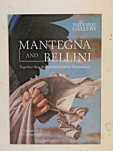 Mantegna and Bellini Promotional Postcard