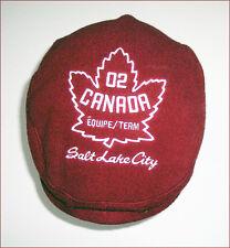 New ROOTS Team Canada Salt Lake City 2002 Winter Olympics Hat Cap - size S