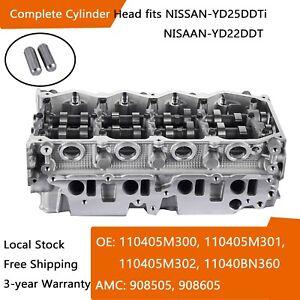 Compelete Cylinder Head for Nissan Navara PATHFINDER III YD22DDT YD25DDTi