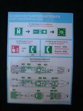 1 AIDAnova Safety Card Sicherheitsinformation Card  Rev. ( Nr.11e/01-08/18 ) RAR